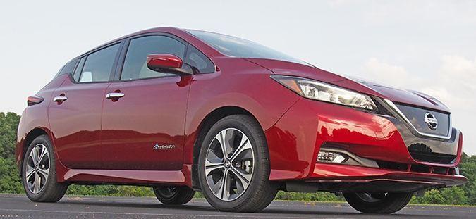 new nissan leaf enables electric driving lifestyles rh pinterest com