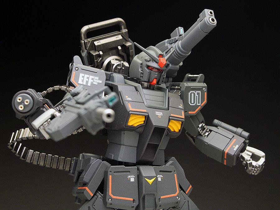 WORK REVIEW HG GTO 1/144 RX7801[FSD] GUNDAM FSD Painted