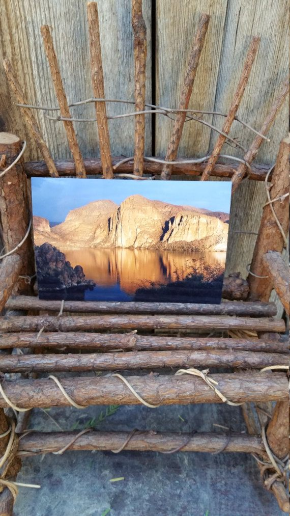 Canyon Lake in the afternoon by DesertsandBeyond on Etsy
