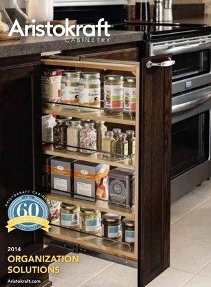 Organization Solutions | Aristokraft cabinets, Quality ...