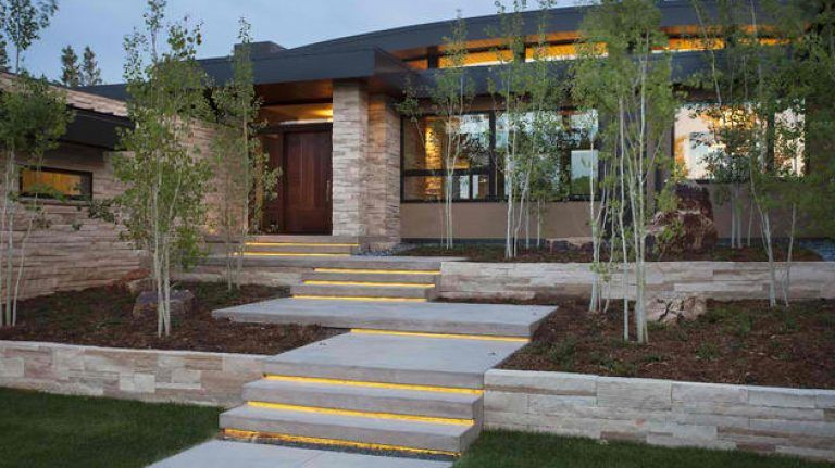 Best Cool Outer Staircase Design 15 Concrete Exterior Staircase 400 x 300