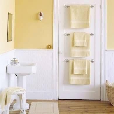 Trucos para decorar y aprovechar espacios en baños pequeños!! #JulietaPisani #DecoDesign