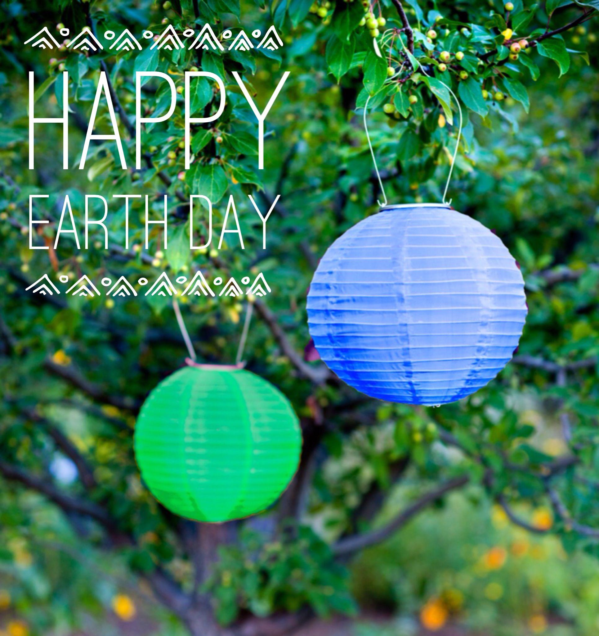 Soji Solar Lanterns In Blue And Green! Www.allsopgarden.com   Happy Earth