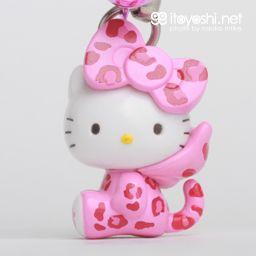 Itoyoshi S Gotochi Kitty Collection No 1673 Kansai Area Osaka Limited Hyo Gara Leopard Print Hello Kitty Pink Version ハローキティー キティ かわいい