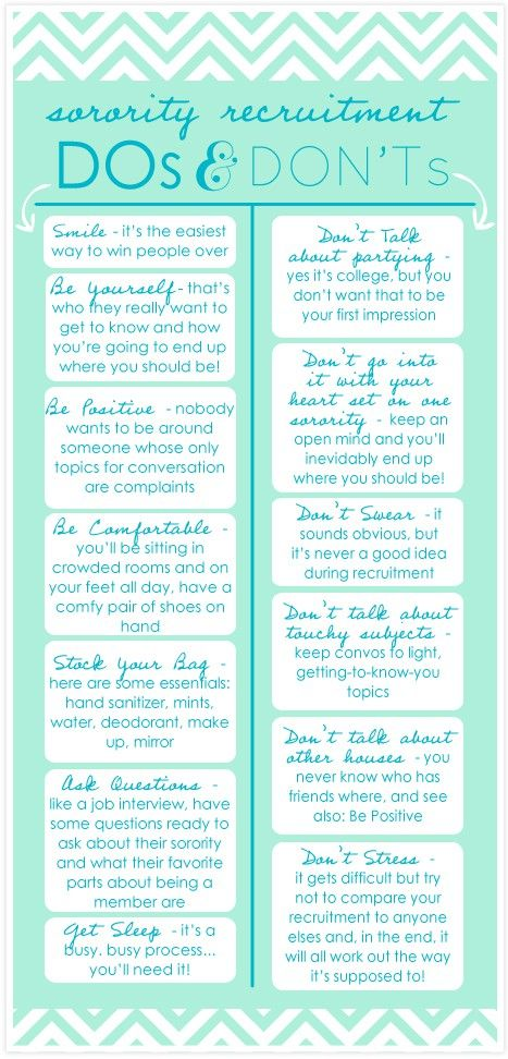 Awh I Want To Print These Off For All The Girls In My Recruitment