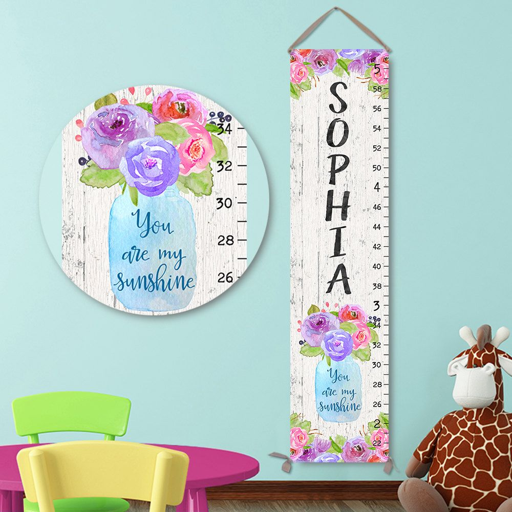 You are my sunshine art personalized canvas growth chart canvas you are my sunshine art personalized canvas growth chart canvas growth chart growth chart ruler height ruler gc1005s nvjuhfo Gallery