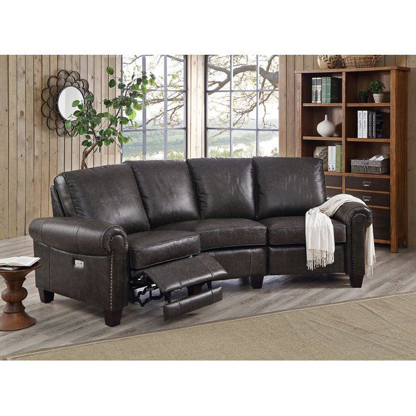 Best You Ll Love The Arlington Leather Reclining Sectional At 400 x 300