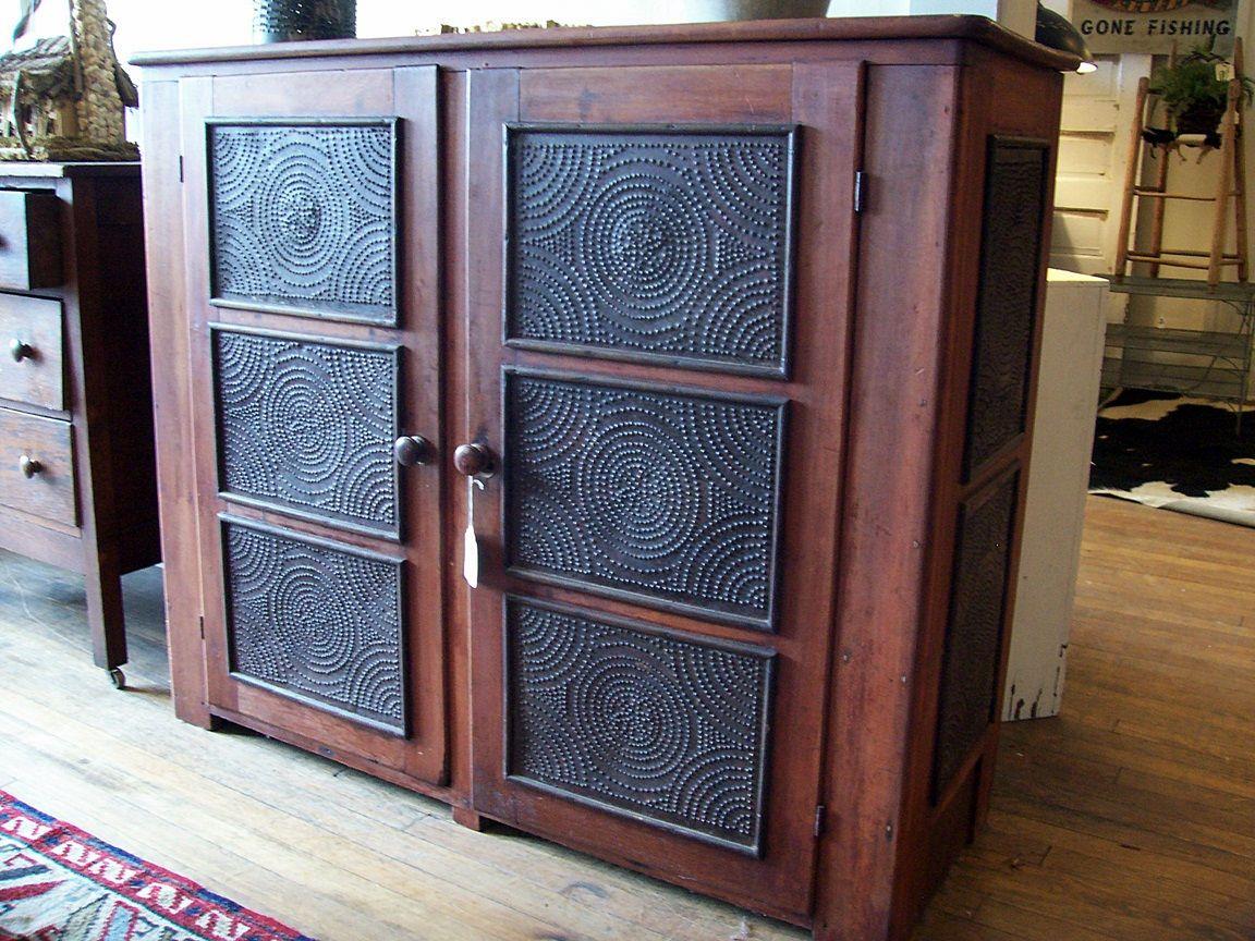 Antique Pie Safe | Early Antique Furniture | Pinterest | Pies ...