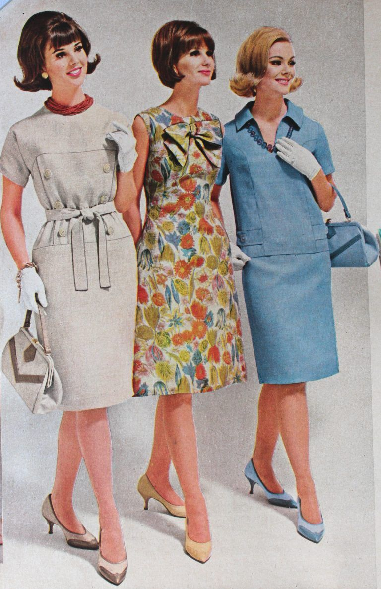 1960s Outfit Ideas | 1960s outfits, Vintage outfits, Fashion