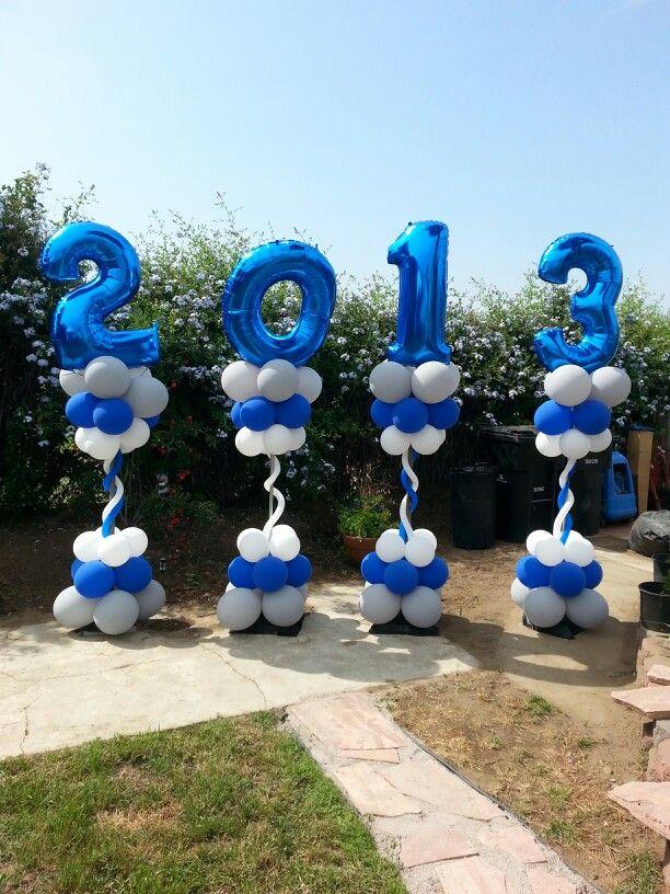Graduation columns #followonfb #ballooncreationsbysandy ...