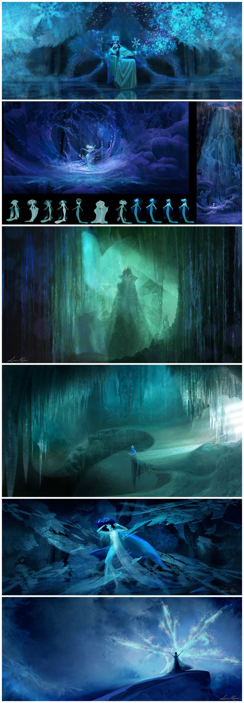 Frozen palace background  Frozen  Lisa Keene  Comics u Cartoons  Pinterest  Lisa