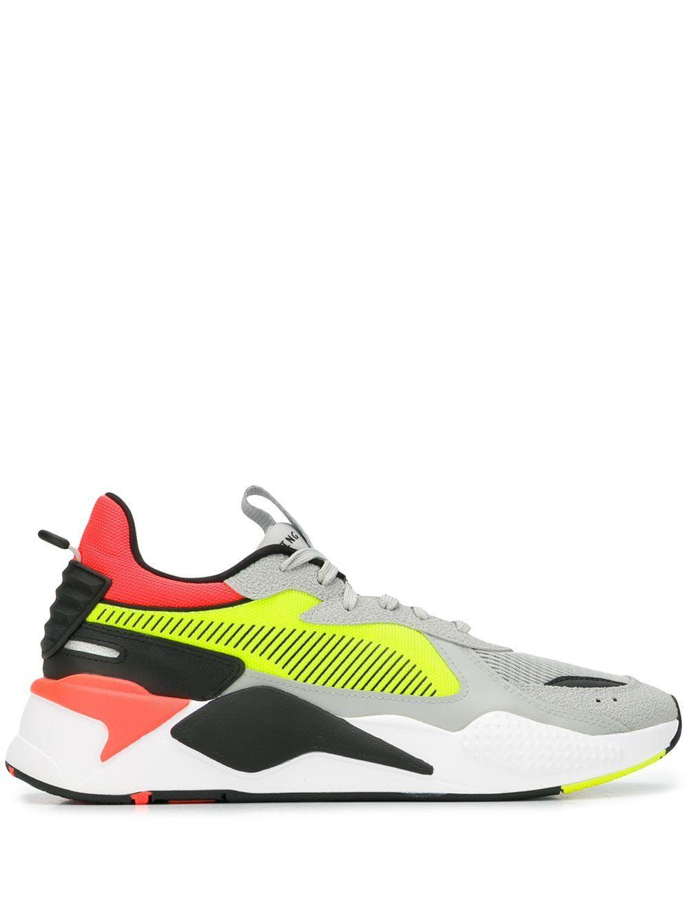 Rs-x hard drive sneakers   Yellow
