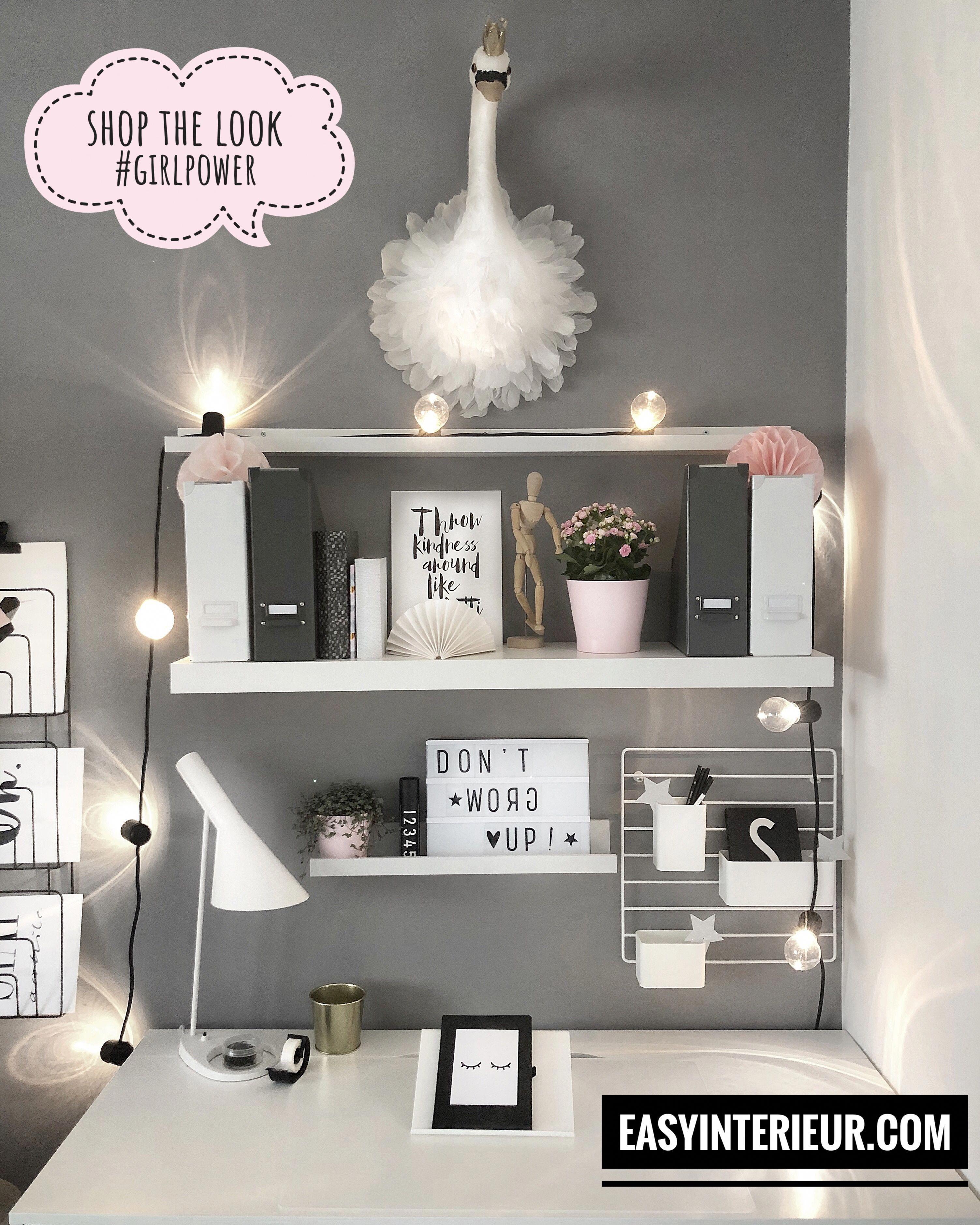 Werbung Dekoration Dekorieren Stylen Styling Kinderzimmer Madchenzimmer Schreibtisc Zimmer Einrichten Jugendzimmer Tumblr Zimmer Einrichtung Zimmer Einrichten