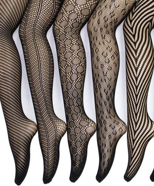 f016737e75293 Go-To French Lace Tights (pack of 6 in sizes XS - 4XL) | Products ...