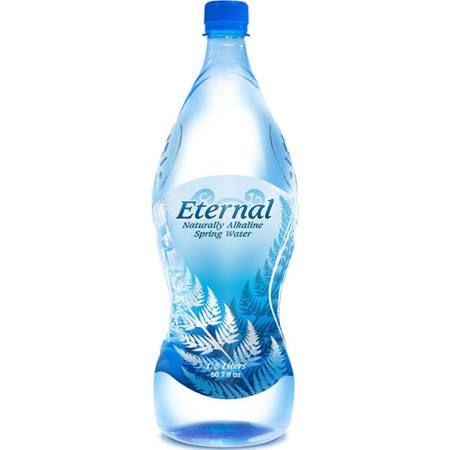 Eternal Naturally Alkaline Spring Water 12 Pack 1 5 L Bottles Spring Water Water Packs Drinking Water