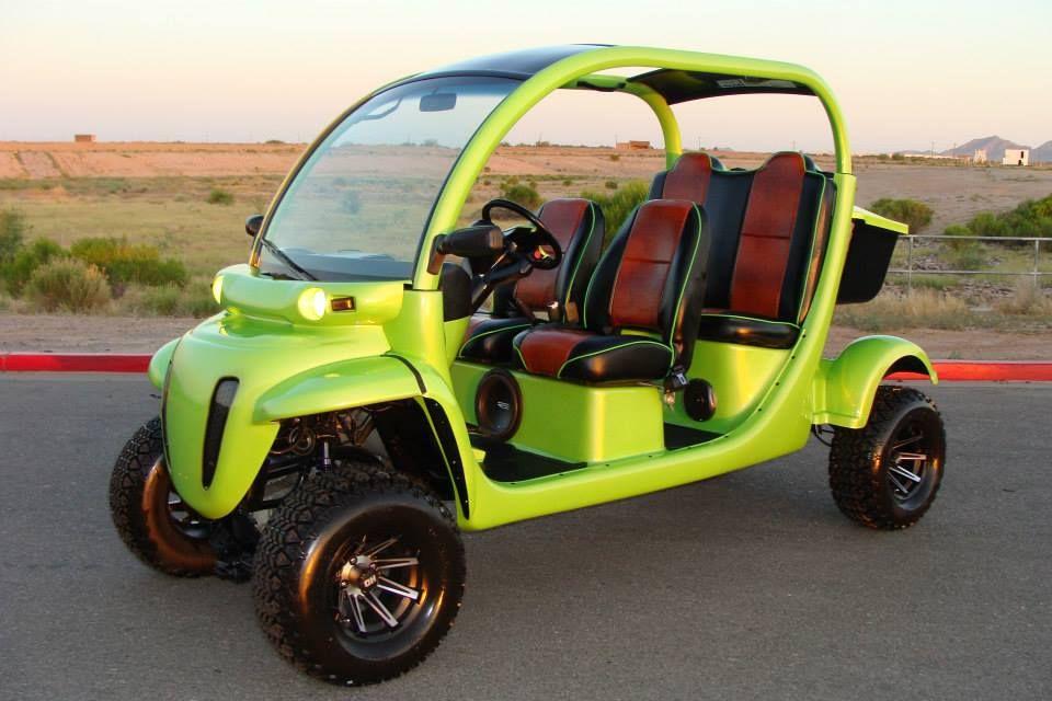 MONSTER LIFTED GEM CAR LIMO Custom golf