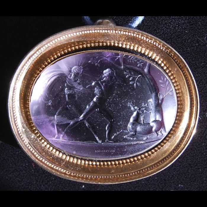 Italy, Late 18th or early 19th Century Amethyst