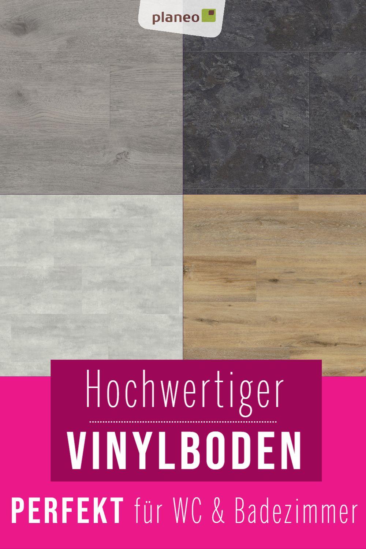 Vinylboden Fur Badezimmer Wasserfest Wie Fliesen Aber Fusswarm Geprufte Qualitat In 2020 Vinylboden Vinyl Vinyl Designboden