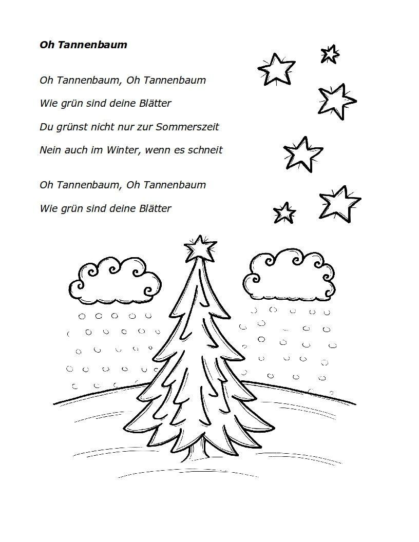 Weihnachtslieder Oh Tannenbaum.Oh Tannenbaum Oh Tannenbaum Lieder Weihnachten Musik Und Kinder