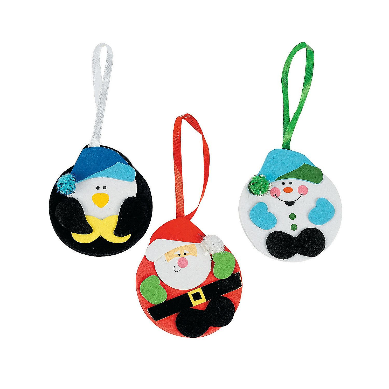 Christmas ornament craft kit - Holiday Character Christmas Ornament Craft Kit Orientaltrading Com