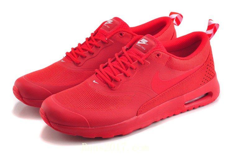 Concesión gastar Medición  Nike Air Max Thea Women Men Red | Nike shoes air max, Cheap nike air max, Nike  air max trainers