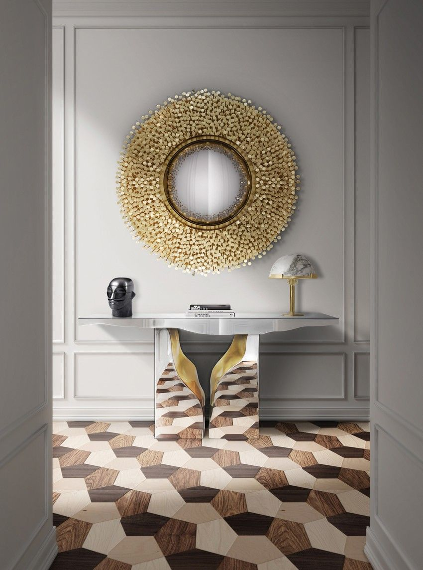 9 Sommertrends von Goldspiegel | Entry foyer, Haus and Entrance decor