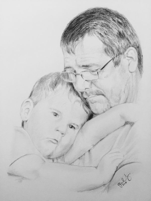 these are some examples of my recent work i draw portraits by