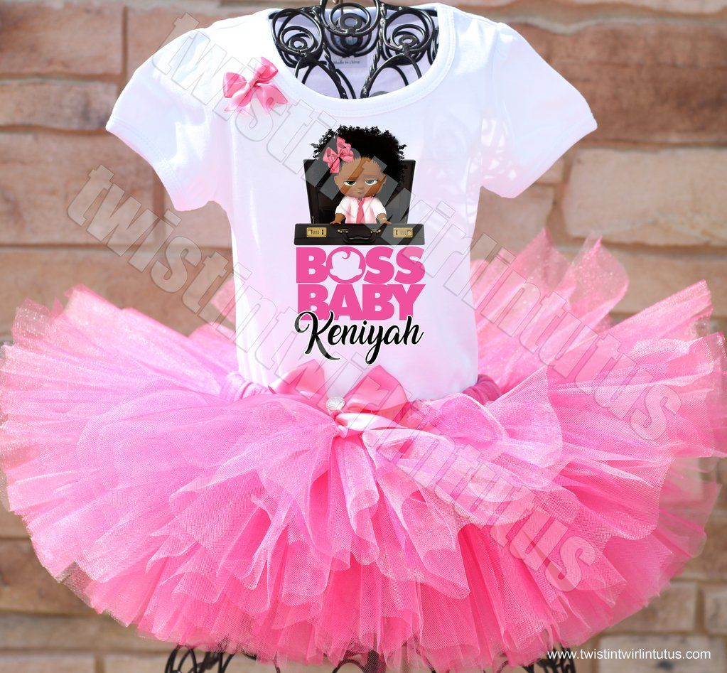 Boss baby birthday tutu outfit in 2019 boss baby qt