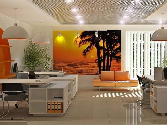 Office Interior Design | Travel Agency #interiordesign #office