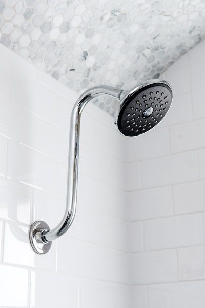 A Smarter And Airier Bath Shower Ceiling Tile Shower Heads