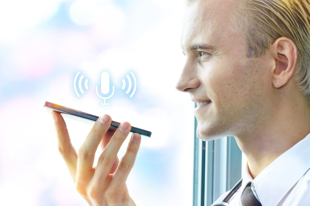 Voice search for small businesses Small business, Visual