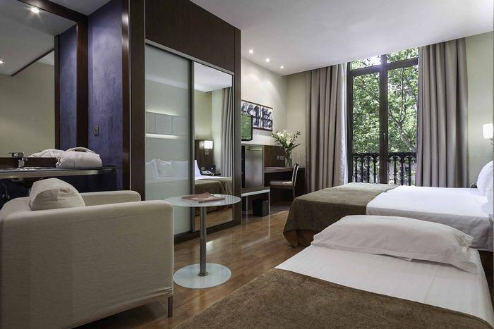 Hotelzimmer-Design im Atriumpalace, Barcelona http\/\/www - wohnideen design