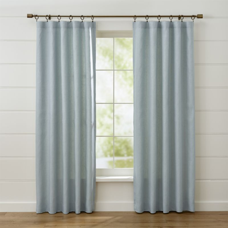 Unique Grey Curtains for Living Room
