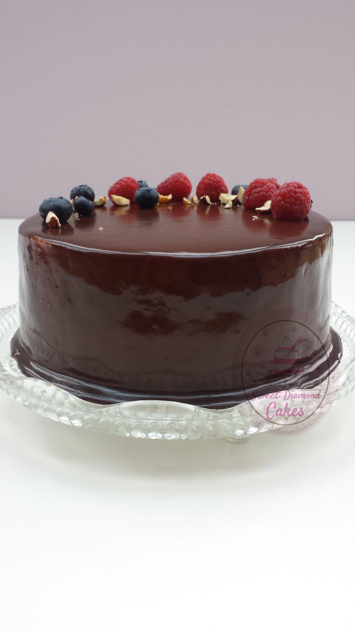 Chocolate mirror glazed cake. Www.sweetdiamondcakes.co.uk ...