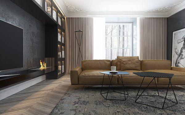 pair of dark and enchanting homes also interiors rh pinterest