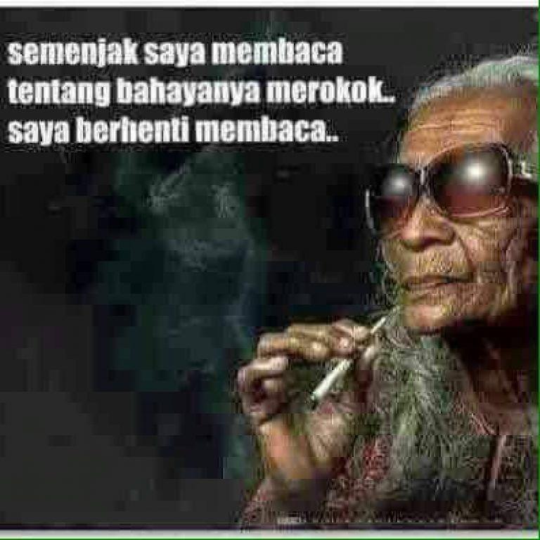 ktawa com meme lucu semenjak saya membaca bahayanya merokok saya