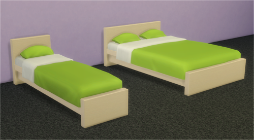 The Sims 4 Veranka\'s 2t4 conversion IKEA MALM Bed room set with ...