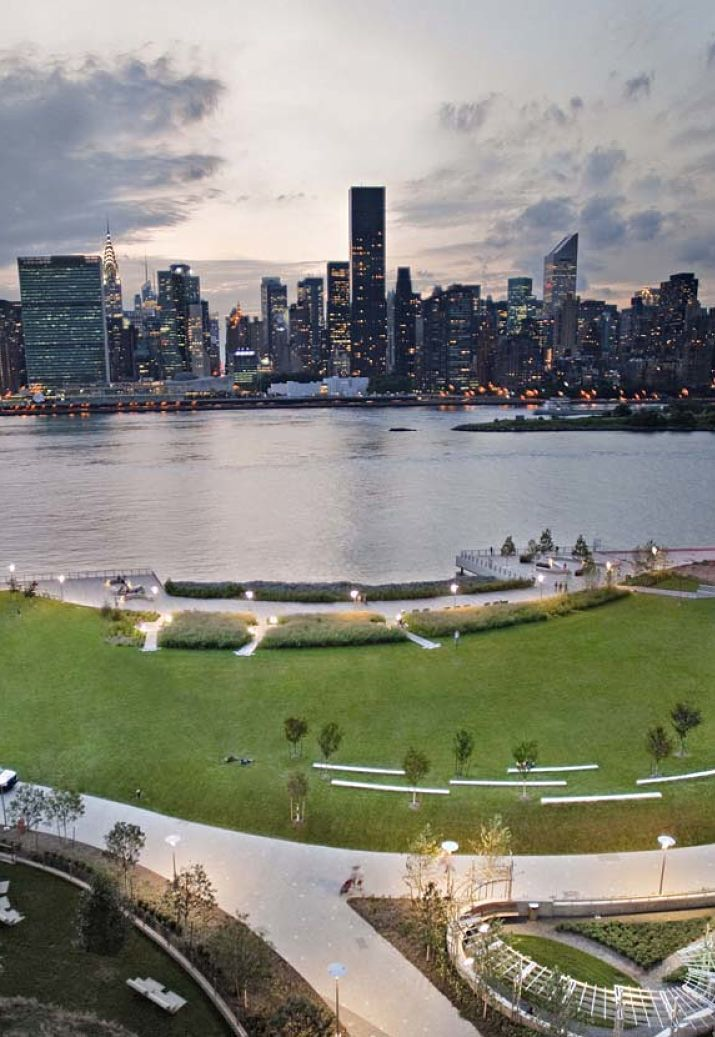 Gantry Plaza State Park In Long Island City Nyc