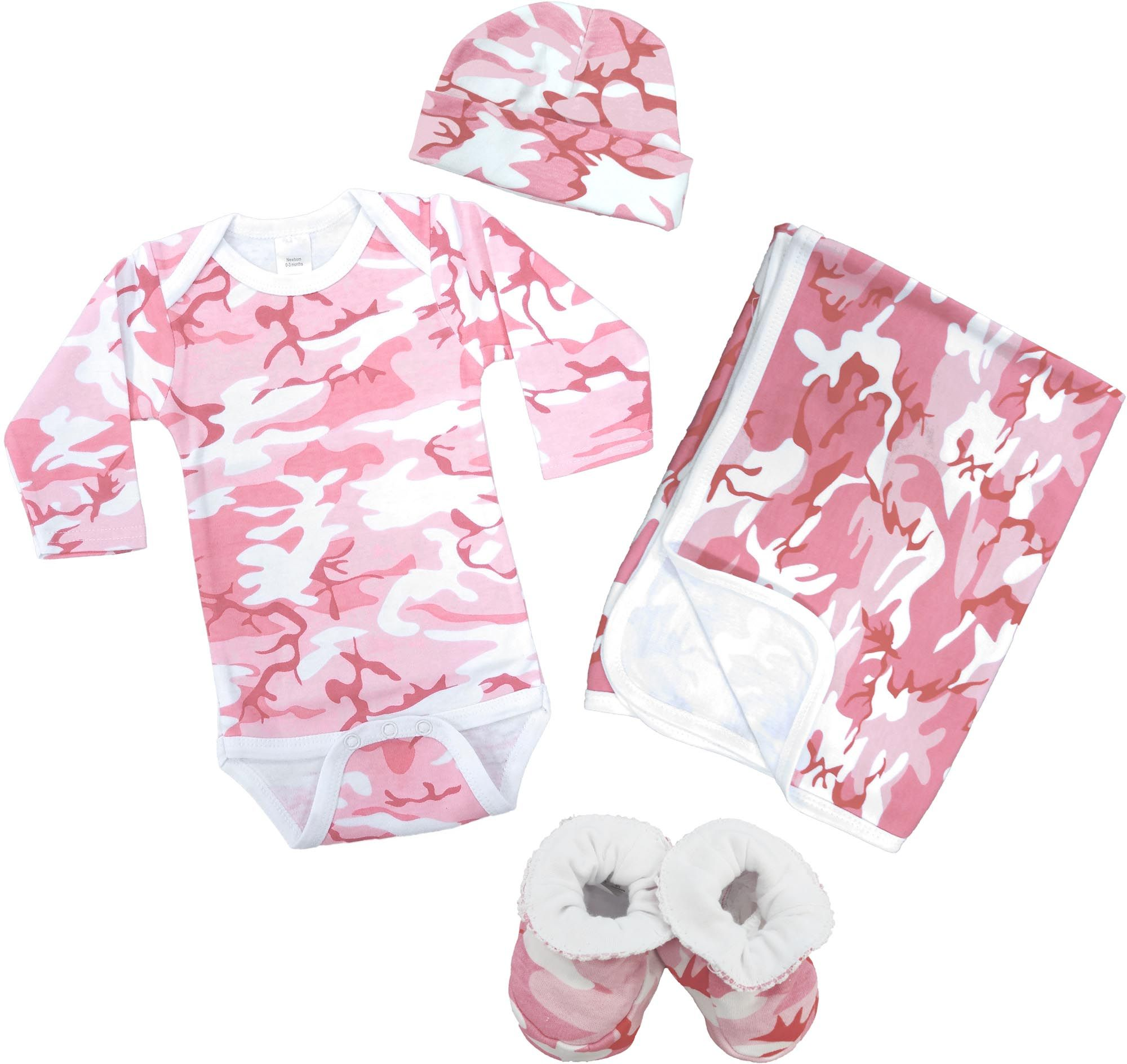 470a89ffc2f9d images of camo baby clothes | Pink Camo Baby Clothing - Deluxe Gift Set |  Baby N Toddler
