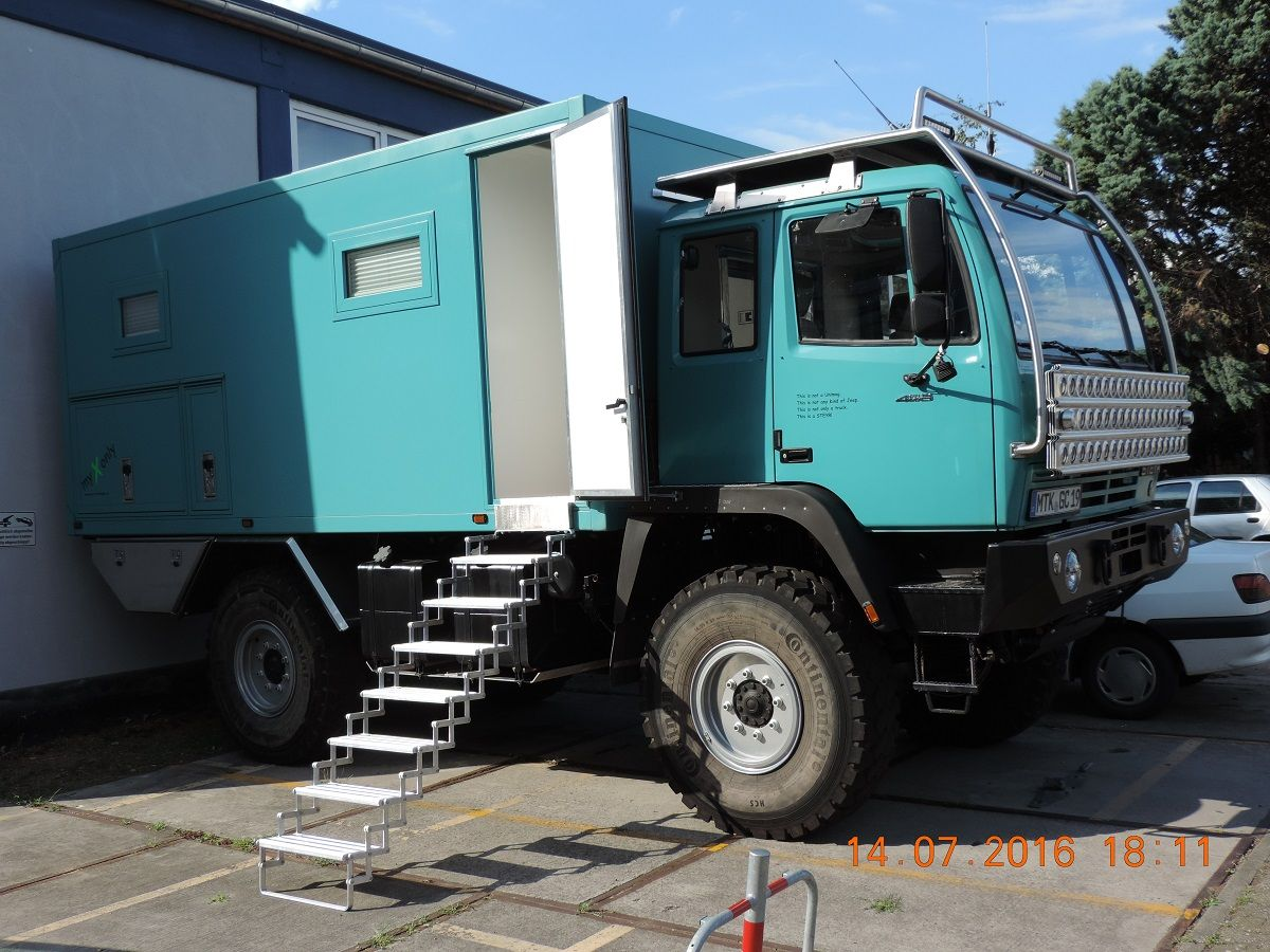 Galerie Expedition vehicle, Expedition truck, Overland
