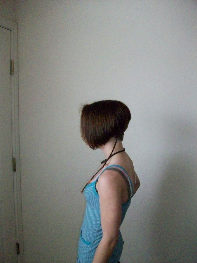 Inverted Bob With Clippered Nape And Long Tail Hot