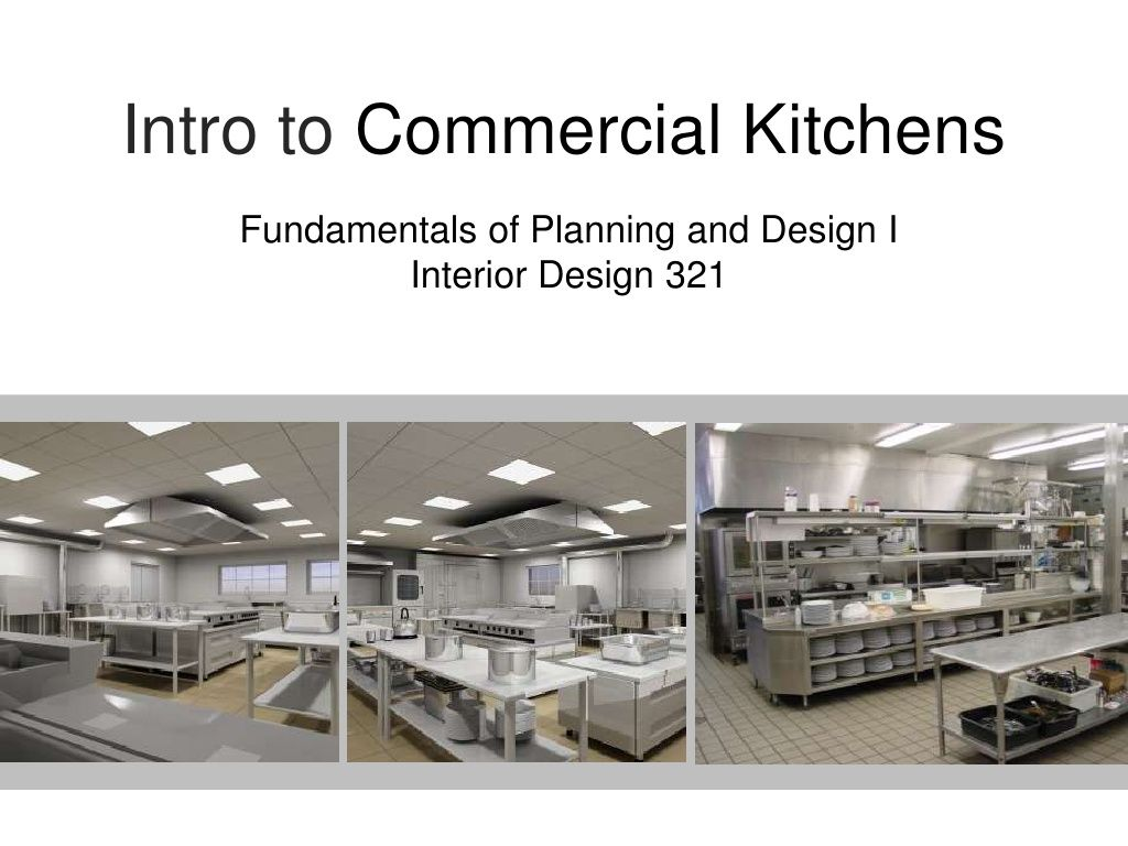 Intro To Commercial Kitchen Design By Michellewidner Via