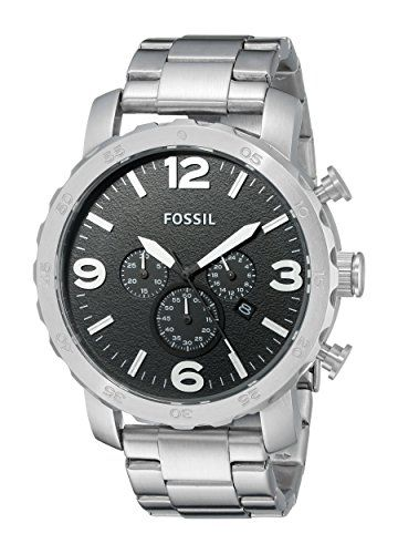 8fe4700edf2 Stort herreur - Fossil Nate JR1353 | Herreure | Pinterest | Watches, Watches  for men and Fossil nate chronograph.
