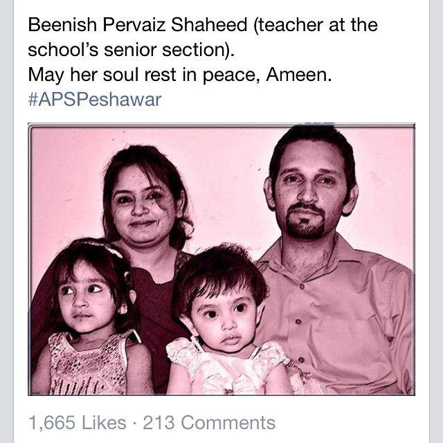 PeshawarAttack #ApsPeshawar | p e s h a w a r • b l e e d s ...