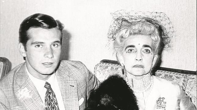 El torero Ángel Teruel y Barbara Hutton, la pobre vieja rica