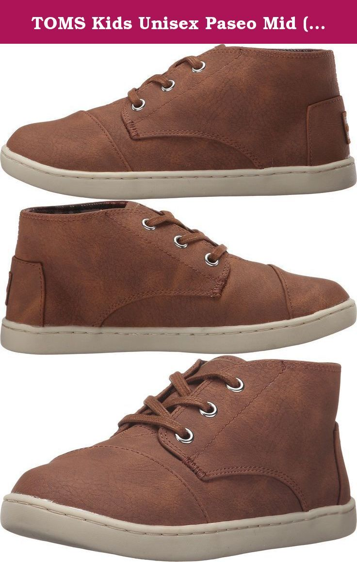 Kids Paseo Mid - Brown Synthetic Leather UcfnqQy7Wo