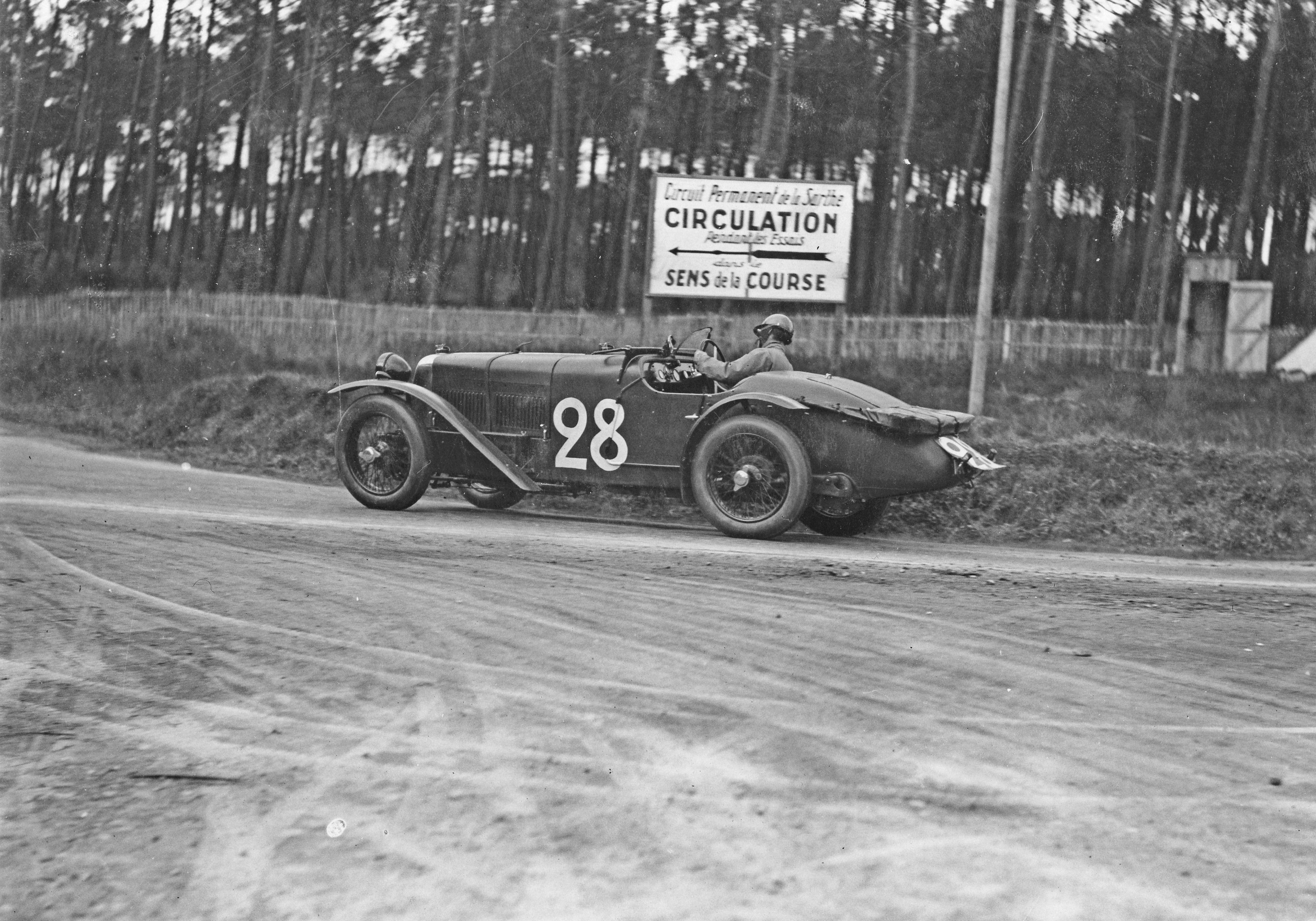 Le Mans 1928 Alvis 28 Le Mans Voiture 24h Du Mans