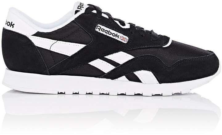 0e716b78438512 Reebok Women s Classic Nylon   Suede Sneakers