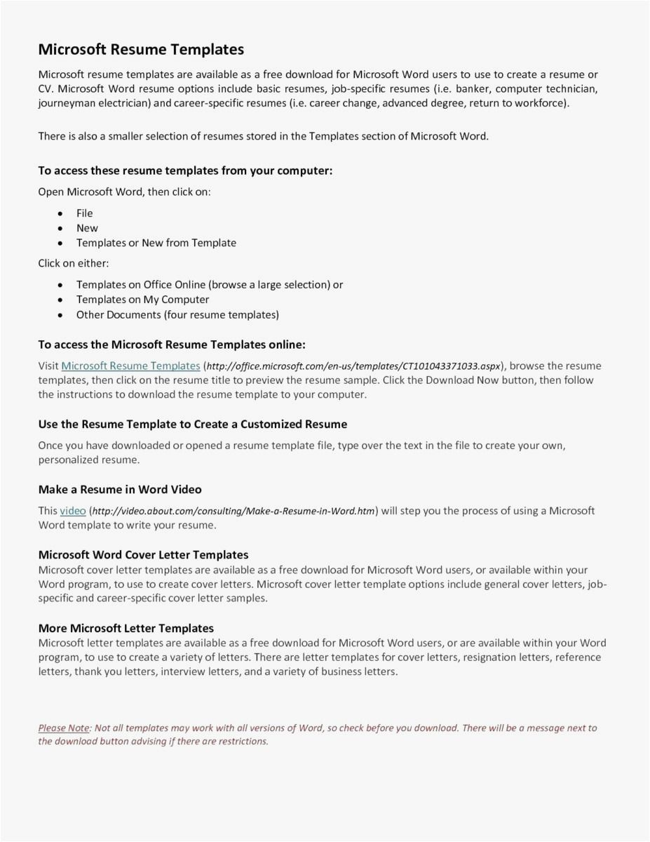 Microsoft Resume Maker Options 3 Resume Format Microsoft Resume Templates Microsoft