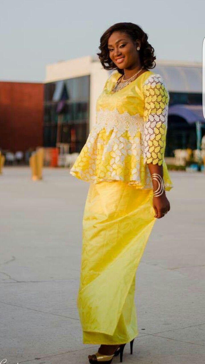 Model De Pagne Congolais Robe